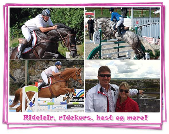 Bilde av rideleir, ridekurs, hest og moro!